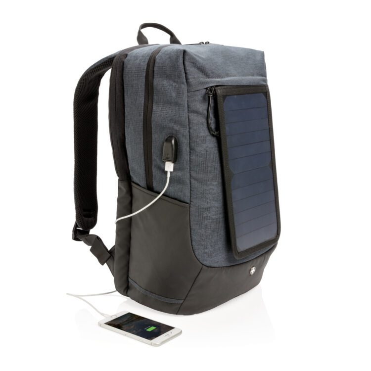 päikesepaneeliga seljakott